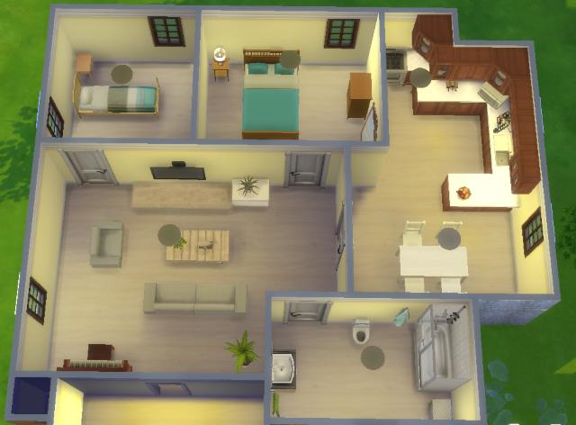 Tuto Comment Creer Une Jolie Maison Sims4fr Communaute Sur Les Sims