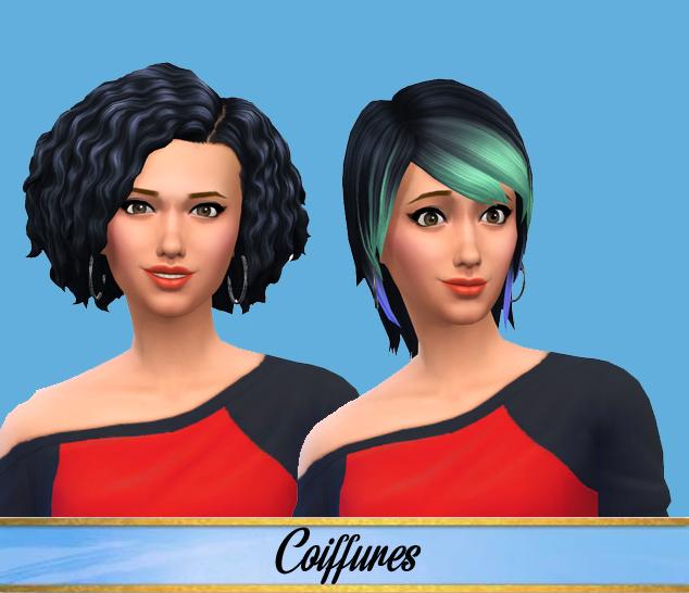 coiffures femmes.