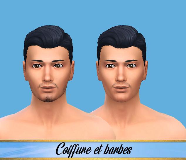 coiffures hommes.