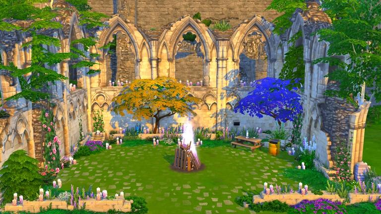 Sims 4 - Création - Rénovation ruines anciennes Windenburg - 1 retouchée.jpg