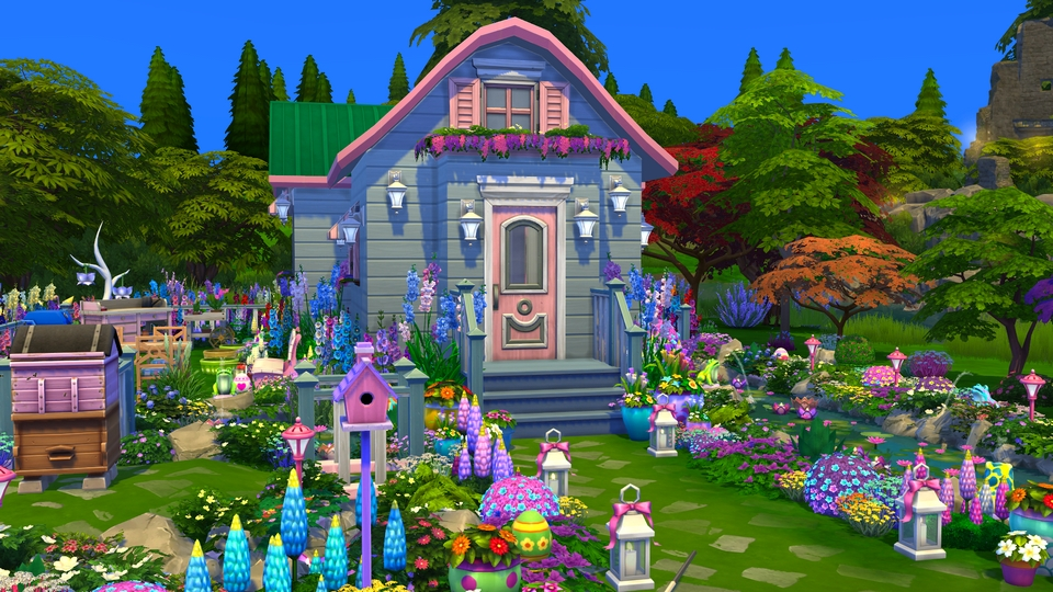 Sims 4 - Speed build - Tiny girly house - 1R.jpg