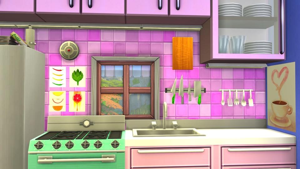 Sims 4 - Speed build - Tiny girly house - 20R.jpg